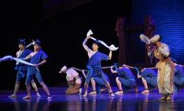 """Sueño del """"The del drama de la Concierto-danza de la cubierta del  de seda marítimo de Road†Imagenes de archivo"""