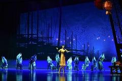 """Sueño del """"The del drama de la linterna-danza de la ejecución del  de seda marítimo de Road†Fotos de archivo libres de regalías"""