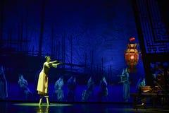 """Sueño del """"The del drama de la linterna-danza de la ejecución del  de seda marítimo de Road†Imagenes de archivo"""