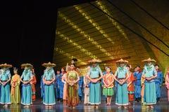 """Sueño del """"The del drama de la pescador-danza de Fujian del  de seda marítimo de Road†Foto de archivo"""