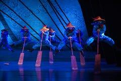 """Sueño del """"The del drama de la Remero-danza del  de seda marítimo de Road†Fotografía de archivo"""