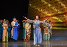 """Sueño del """"The del drama de Tang Shiyi-Dance del  de seda marítimo de Road†Imagen de archivo libre de regalías"""