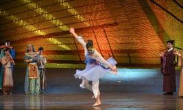 """Sueño del """"The del drama de Tang Shiyi-Dance del  de seda marítimo de Road†Imagen de archivo"""