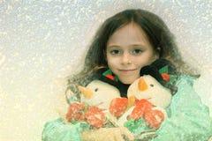 Sueño del invierno Imagen de archivo libre de regalías