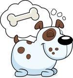 Sueño del perro stock de ilustración