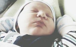 Sueño lindo del bebé fotografía de archivo libre de regalías