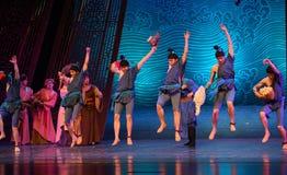 """Sueño local del """"The del drama de la regalo-danza de la especialidad del  de seda marítimo de Road†Imagen de archivo libre de regalías"""