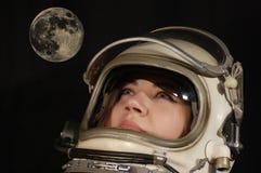 Sueño lunar Imagen de archivo