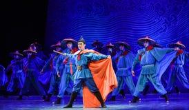 """Sueño orgulloso del """"The del drama de la Capitán-danza del  de seda marítimo de Road†Fotografía de archivo"""