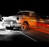 Sueño pasado del coche viejo Fotos de archivo libres de regalías