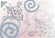 Sueño rosado stock de ilustración