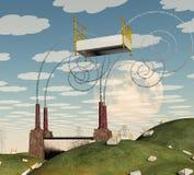 Sueño surrealista stock de ilustración