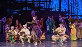 """Sueño transnacional del """"The del drama de Hamadi-Dance del hombre de negocios del  de seda marítimo de Road†Imágenes de archivo libres de regalías"""