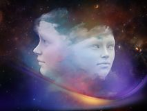 Sueño virtual Foto de archivo libre de regalías