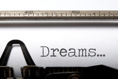 sueños Imagen de archivo
