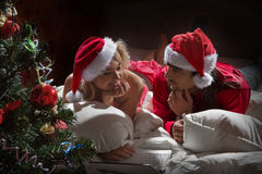 Sueños de Christmass Foto de archivo libre de regalías