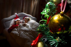 Sueños de Christmass Imagen de archivo