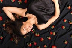 Sueños de la fresa Imagen de archivo libre de regalías