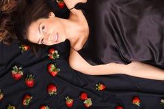 Sueños de la fresa Foto de archivo libre de regalías