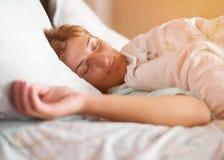Sueños de la muchacha Imagen de archivo libre de regalías