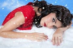 Sueños de la nieve Imagen de archivo libre de regalías