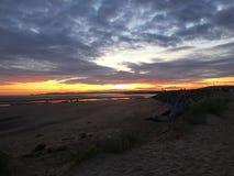 Sueños de la puesta del sol Imagen de archivo