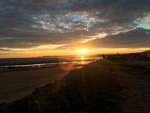 Sueños de la puesta del sol Fotografía de archivo