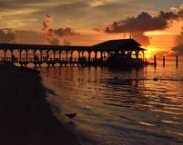 Sueños 3 de la puesta del sol Imagen de archivo libre de regalías