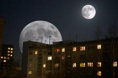 sueños de los Lunar-hombres Foto de archivo libre de regalías