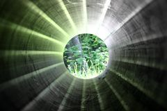 Sueños de tubo Imagen de archivo