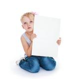 Sueños de una niña Fotos de archivo libres de regalías