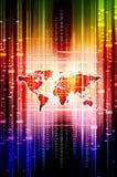 Sueños del mundo de Digitaces Imagen de archivo