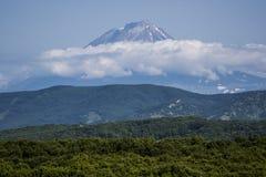 Sueños del volcán Imagen de archivo libre de regalías