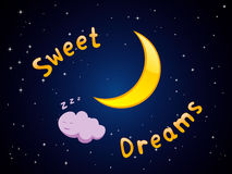 Sueños dulces Foto de archivo libre de regalías