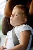 Sueños en coche Imagen de archivo libre de regalías