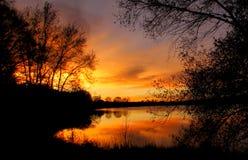 Sueños en el cielo Foto de archivo libre de regalías
