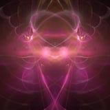 Sueños encantadores de los corazones de hadas Imagen de archivo libre de regalías