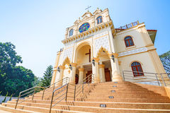 Suebnathitham church, located in Chiang Mai, Thailand. Royalty Free Stock Photography