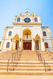 Suebnathitham church, located in Chiang Mai, Thailand. Royalty Free Stock Image