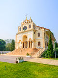 Suebnathitham church, located in Chiang Mai, Thailand. Royalty Free Stock Images