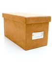 Suede box Royalty Free Stock Photo