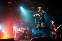 Suede concert Stock Photography