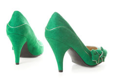 Suede female shoes | Isolated Stock Photography