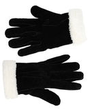 Suede men's gloves Royalty Free Stock Image