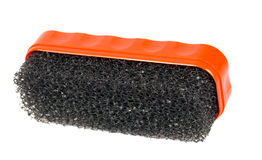 Suede and nubuck cleaning brush Stock Photography