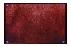 Suede Plate Royalty Free Stock Image