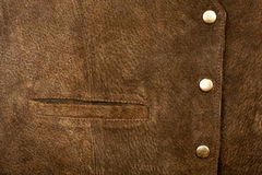 Suede and pocket Royalty Free Stock Photo