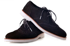 Suede shoe Stock Image