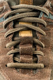 Suede shoe close up Royalty Free Stock Images