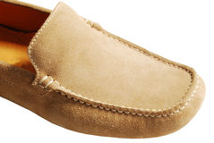 Suede shoes Stock Images
